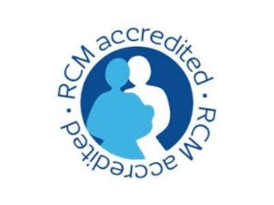 Accredited by the Royal College of Midwives